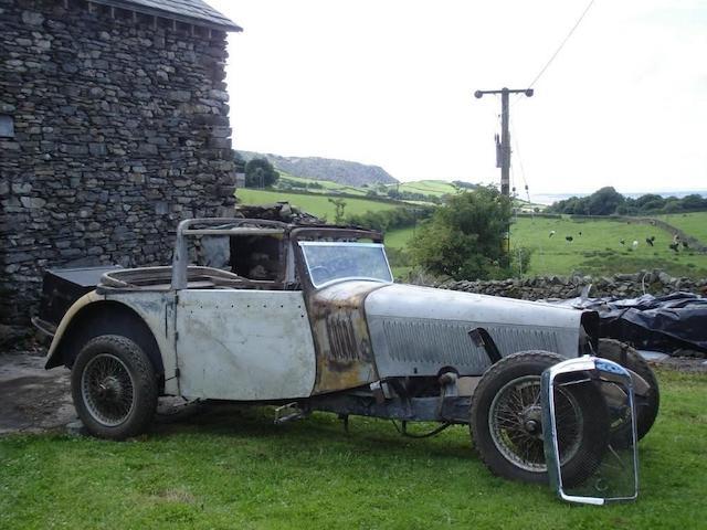 1936 Alvis Speed Twenty Drophead Coupé Project  Chassis no. 13297 Engine no. 13748