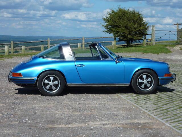 Left-hand Drive,1970 Porsche 911S 2.7-Litre Targa  Chassis no. 911 0310607 Engine no. 6451147