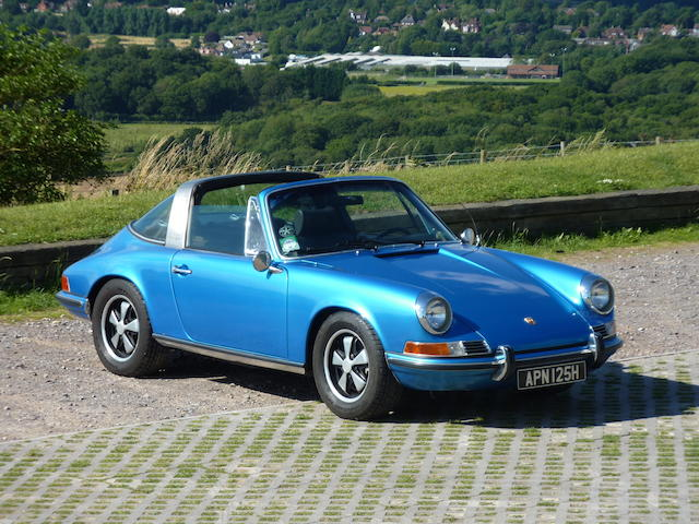 Left-hand Drive,1970 Porsche 911S 2.7-Litre Targa  Chassis no. 911 0310607 Engine no. 6451147