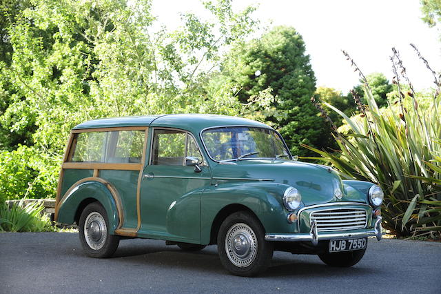 1966 Morris Minor 1000 Traveller  Chassis no. MAW5D-1134067 Engine no. 10V/189E/H1503