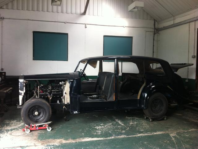 1955  Rolls-Royce  Silver Wraith Limousine  Chassis no. DLW83 Engine no. L82D