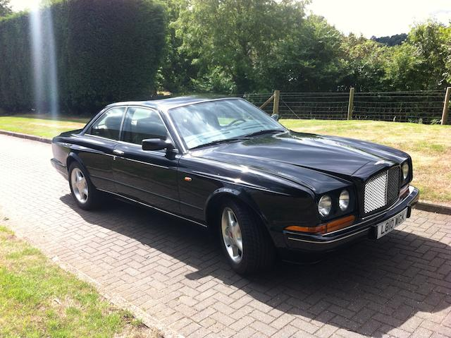 1994 Bentley Continental R Coupé  Chassis no. SCBZB03C6RCX52212 Engine no. 82269L410MTKP