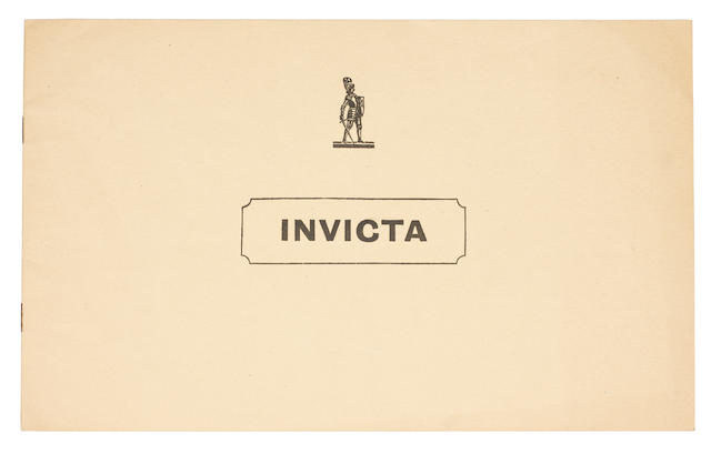 An Invicta 4½ Litre sales brochure,