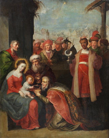 Circle of Frans Francken the Younger (Antwerp 1581-1642) The Adoration of the Magi