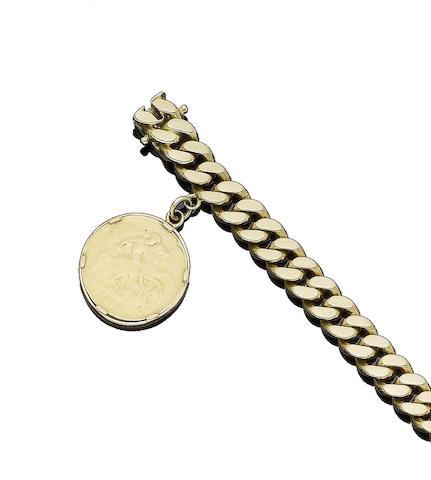 A fancy-link bracelet, by Piaget