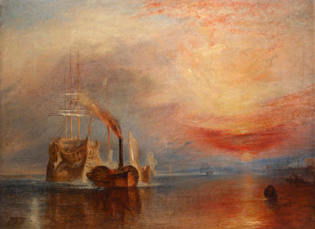 After Joseph Mallord William Turner, RA, 19th Century 'The Fighting Temeraire'
