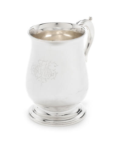 A  George III silver mug by Hester Bateman, London 1786