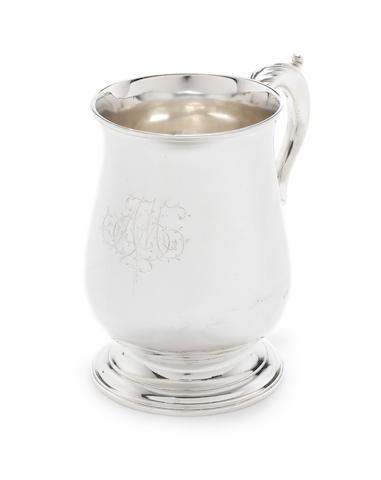 A  George III silver mug by Hester Bateman, London 1786