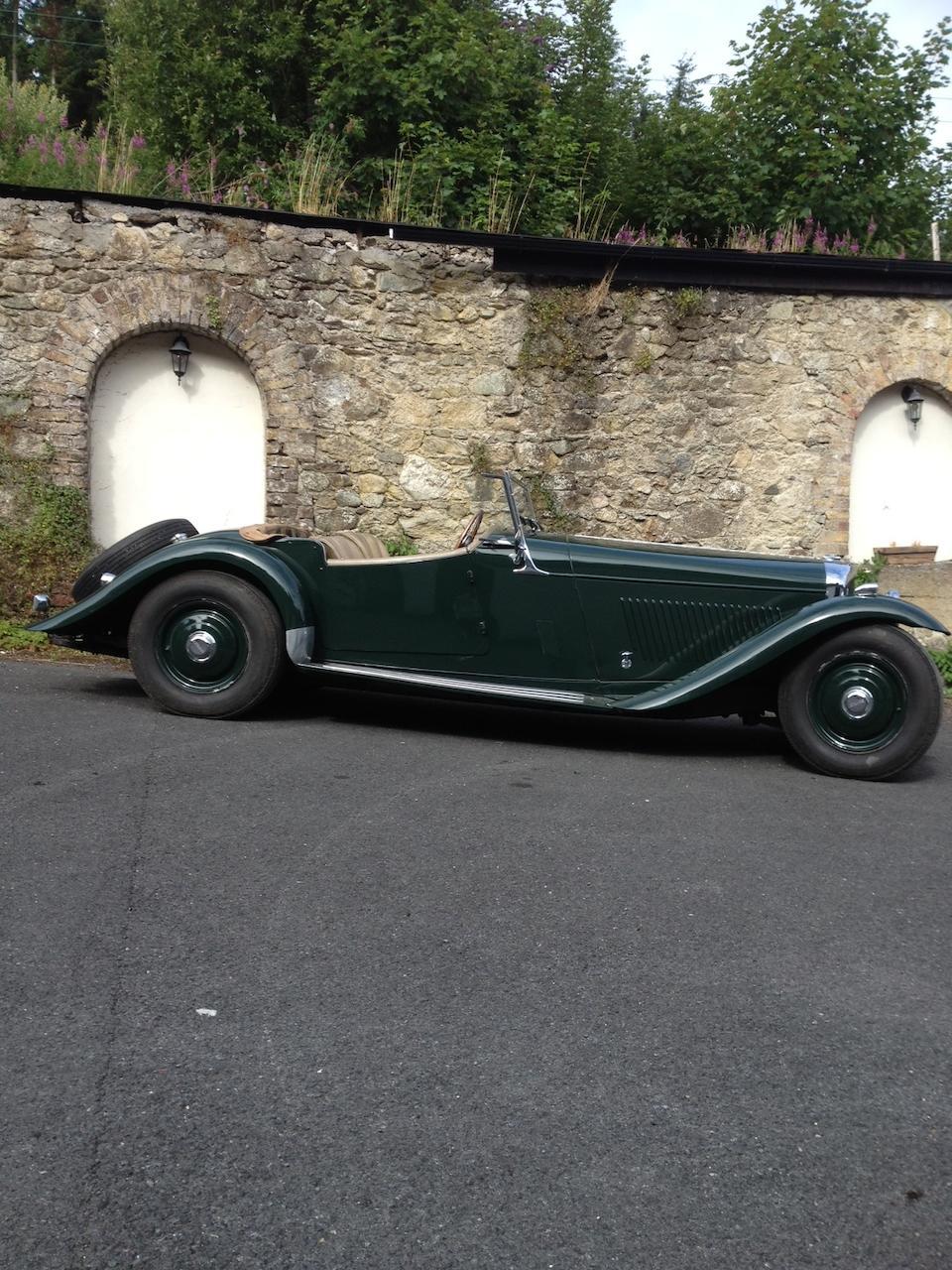 1949 Bentley Mark VI/S1 4.9 litre Mallalieu 'Oxford' Sports Two-seater  Chassis no. B368DA Engine no. BC342