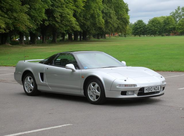 Only 6,000 miles from new,1991 Honda NSX Coupé  Chassis no. JHMNA12600T001037 Engine no. C30A4-1000151