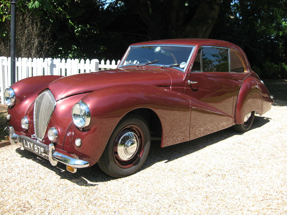 1951 Healey Tickford Sports Saloon  Chassis no. C1902 Engine no. B6019
