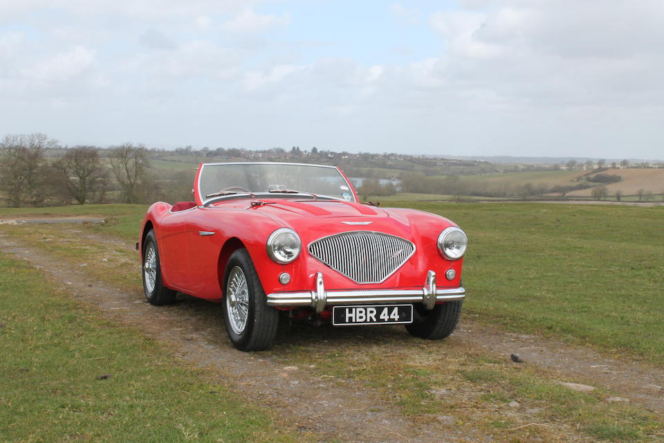 1955 Austin-Healey 100 BN1 Roadster  Chassis no. BN1-224571 Engine no. 1B224574