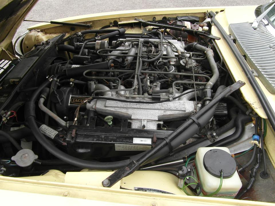 One owner, 10,500 miles from new,1976 Jaguar XJ-S V12 Coupé  Chassis no. 2W-2181DN Engine no. 5578