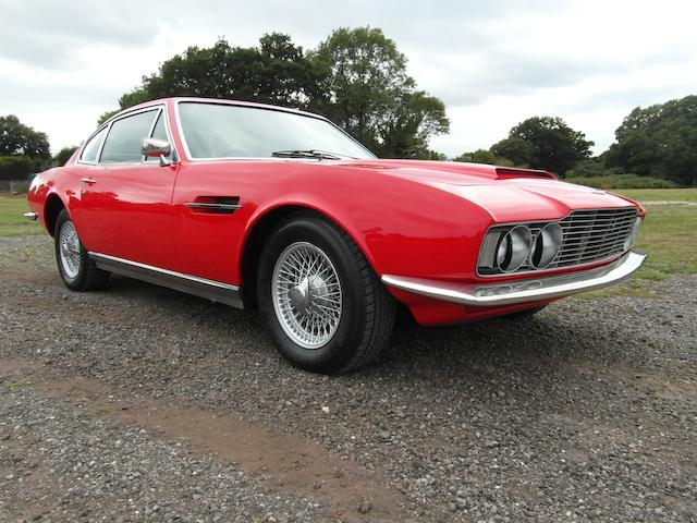 Property of a deceased's estate,1969 Aston Martin DBS Sports Saloon  Chassis no. DBS/5240/R Engine no. 400/3836/S