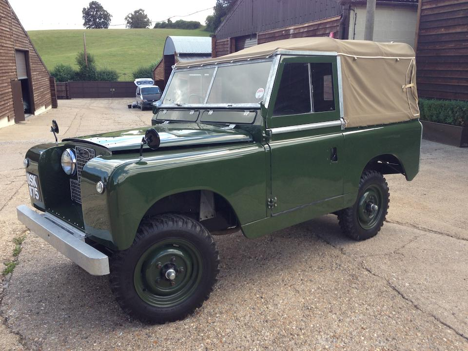 1959 Land Rover Series II 4x4  Chassis no. 141901773