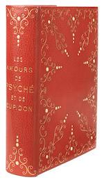ICART (LOUIS) LA FONTAINE (JEAN DE) Les Amours de Psyché et de Cupidon. Pointes sèches de Louis Icart, NUMBER 3 OF 20 COPIES, WITH THREE ORIGINAL SIGNED DRAWINGS BY ICART, ARTIST'S PRESENTATION COPY, BINDING BY GEORGES CRETTÉ, 1949