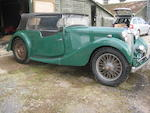 1937 MG VA Drophead Coupé Project  Chassis no. VA 0672 Engine no. A16127D