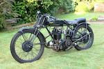 c.1928 AJS 346cc R7/K6 Special Frame no. K101340 Engine no. 145240 R