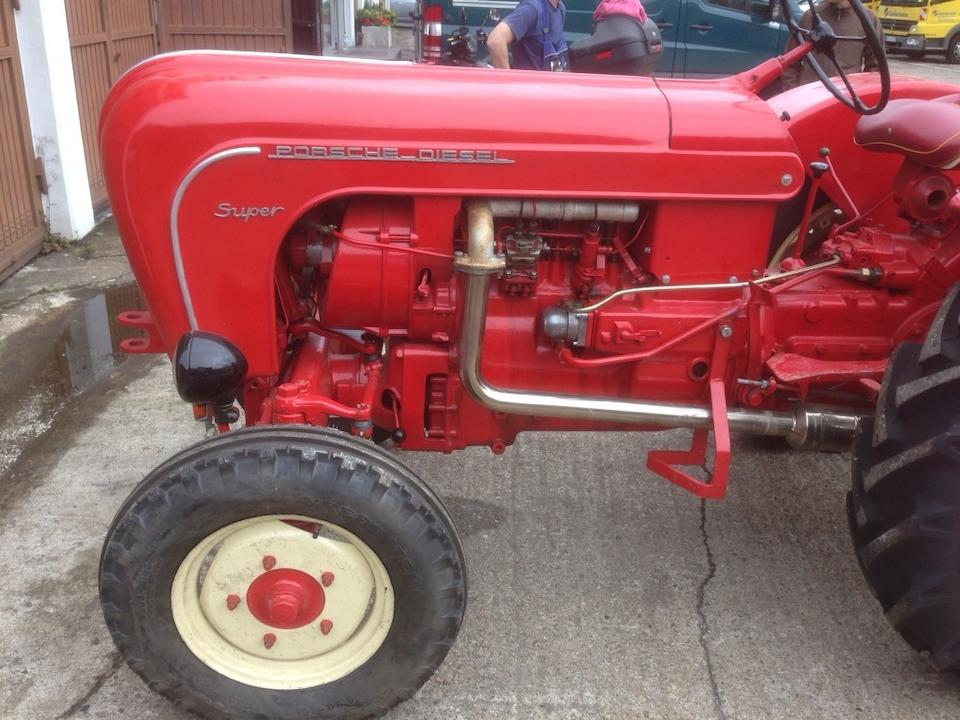 c.1958 Porsche Diesel Super S308 Tractor  Chassis no. 9146 Engine no. to be advised