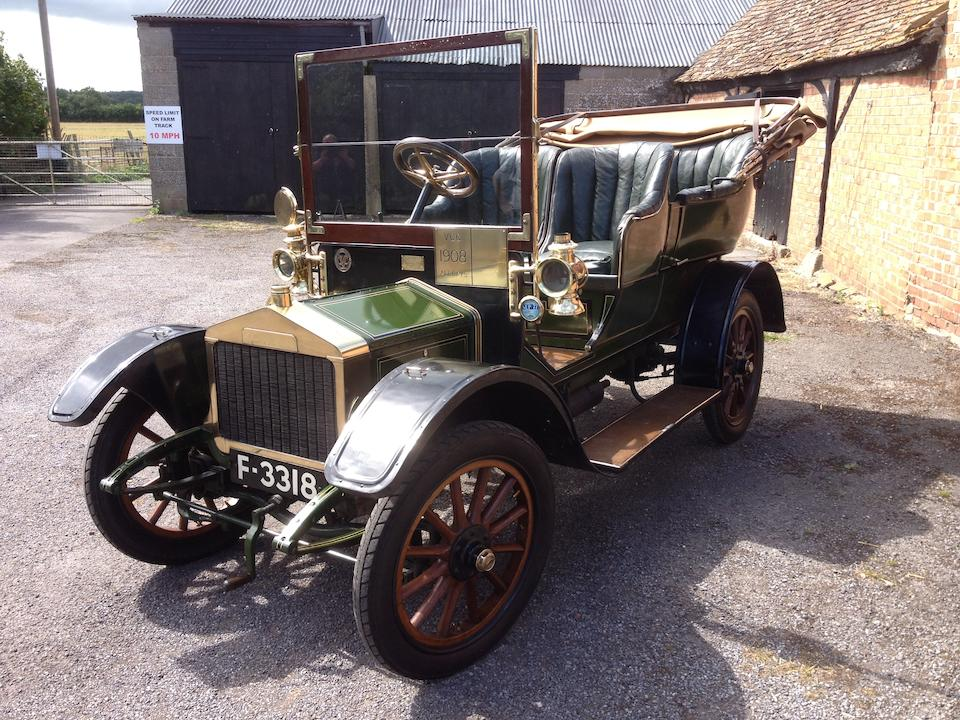 1908 Alldays & Onions 10/12hp Four-seater Swing-seat Tonneau  Chassis no. 2754 Engine no. 3294