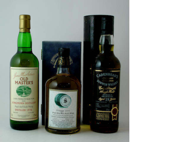 Longmorn-1976<BR /> Bunnahabhain-21 year old-1979<BR /> Ord-19 year old-1983