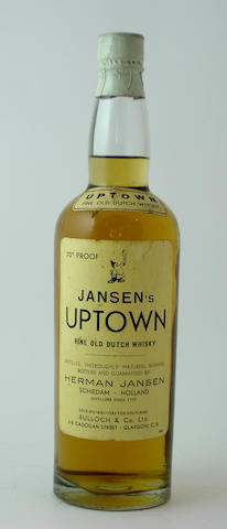 Jansen's Uptown Fine Old Dutch Whisky