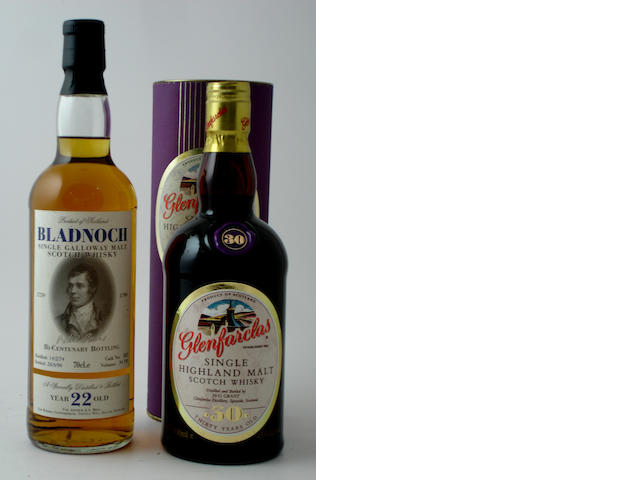 Bladnoch-22 year old-1974<BR /> Glenfarclas-30 year old