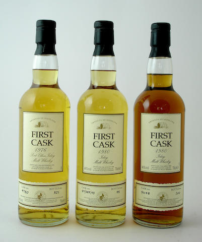 Port Ellen-18 year old-1976<BR /> Port Ellen-16 year old-1980<BR /> Bunnahabhain-19 year old-1980
