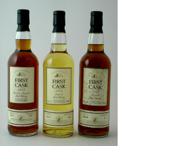 Glenlivet-21 year old-1973<BR /> Glenlivet-24 year old-1974<BR /> Glenlivet-24 year old-1976