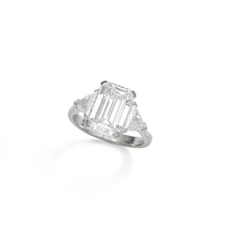 A diamond single-stone ring, by Theo Fennell