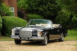 1970 Mercedes-Benz 280SE 3.5 Cabriolet  Chassis no. 111-027-22-000818 Engine no. 116-980-22-000487