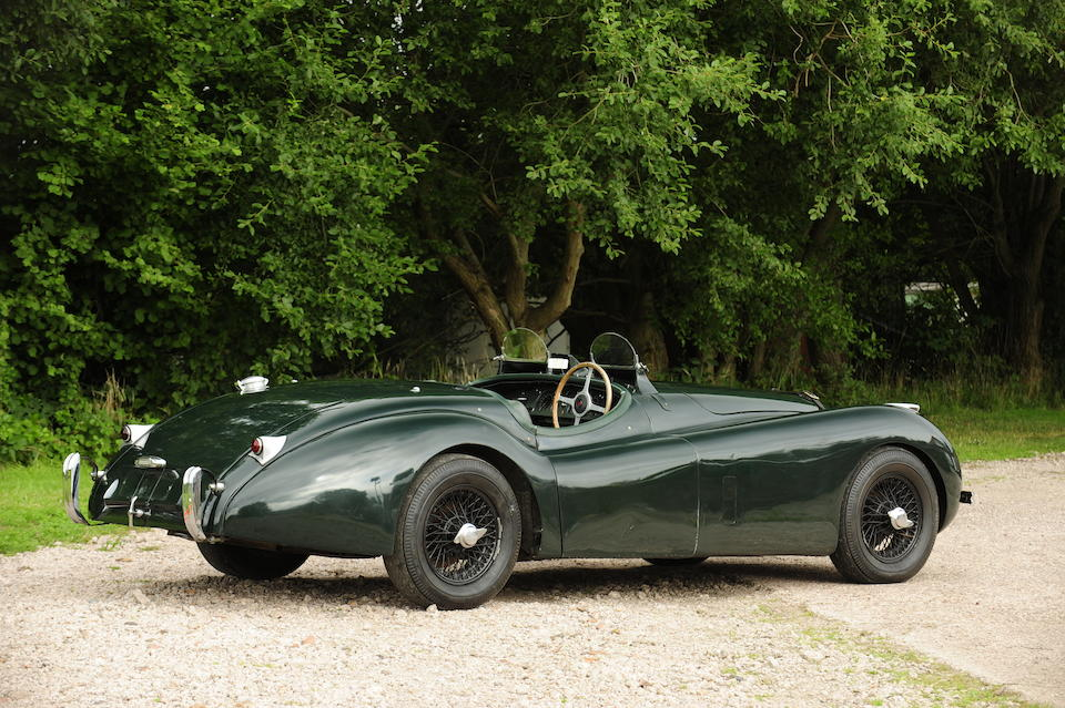 The ex-Ray Archibald, 1954 New Zealand International Grand Prix,1951 Jaguar XK120 3.8-Litre Competition Roadster  Chassis no. 660864 Engine no. W2768-7
