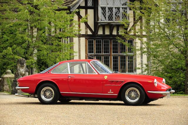 1967 Ferrari 330GTC Berlinetta  Chassis no. 10555