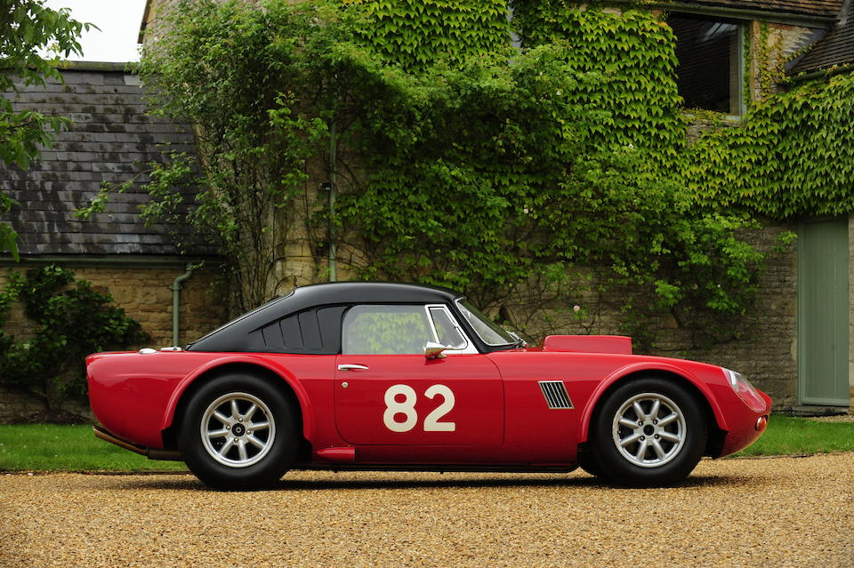 The Ex-works, Chris Meek,1965 Ginetta-Ford G10 V8 Two-Seat Competition Coupé  Chassis no. to be advised Engine no. to be advised