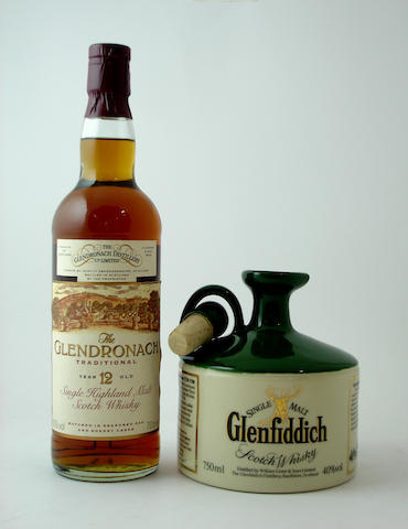 The Glendronach-12 year old<BR /> Glenfiddich