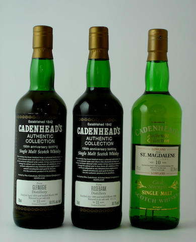 Glenugie-13 year old-1978<BR /> Rosebank-11 year old-1980<BR /> St. Magdalene-10 year old-1982
