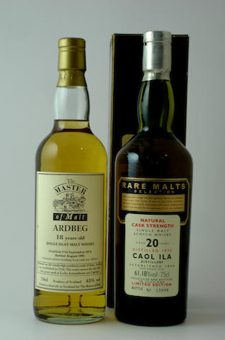 Ardbeg-18 year old-1974<BR /> Caol Ila-20 year old-1975