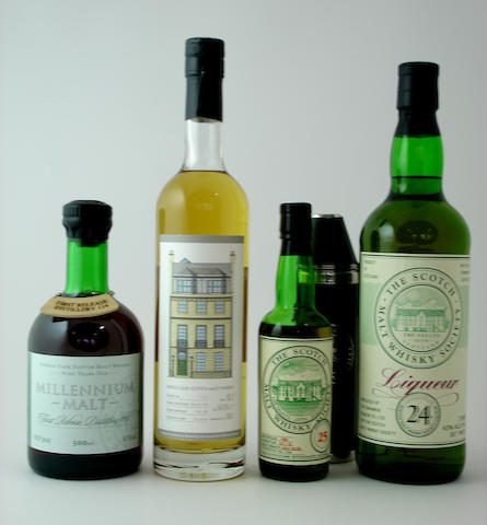 SMWS 114 First Release-9 year old<BR /> SMWS 114.3-13 year old<BR /> SMWS 25<BR /> SMWS Liqueur 24