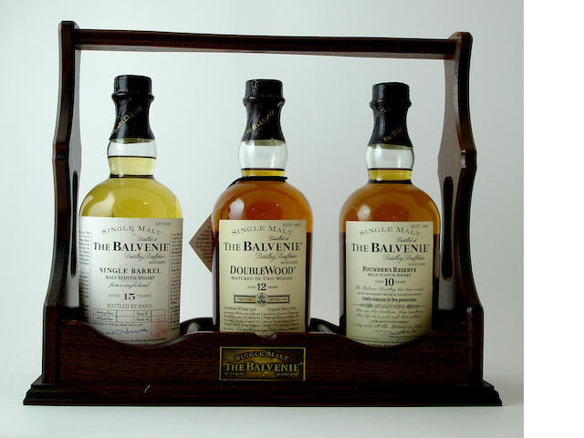 The Balvenie tantalus containing: