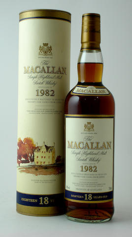 The Macallan-18 year old-1982