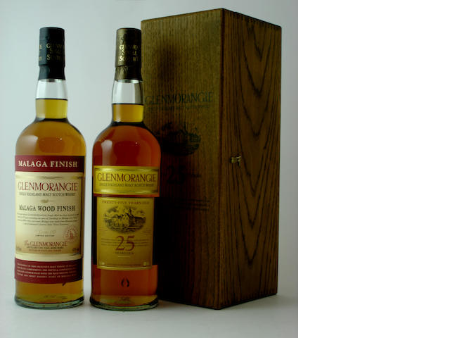 Glenmorangie Malaga Wood Finish-25 year old<BR /> Glenmorangie-25 year old