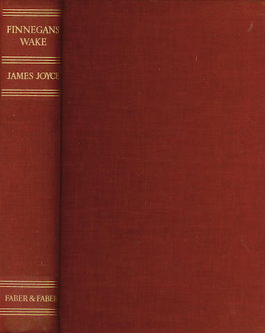 JOYCE (JAMES) Finnegans Wake, FIRST EDITION, 1939; Stephen Hero, 1948; Letters of James Joyce edited by Stuart Gilbert, 1957 (3)