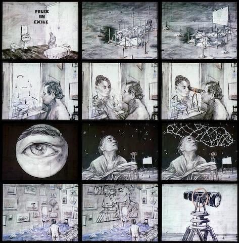 William Joseph Kentridge (South African, born 1955) '6 films'