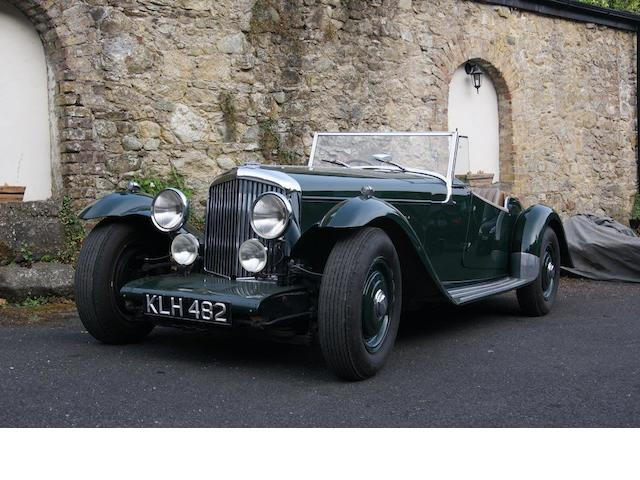 1949 Bentley Mark VI/S1 4.9 litre Mallalieu 'Oxford' Sports Two-seater  Chassis no. B368DA Engine no. BC342