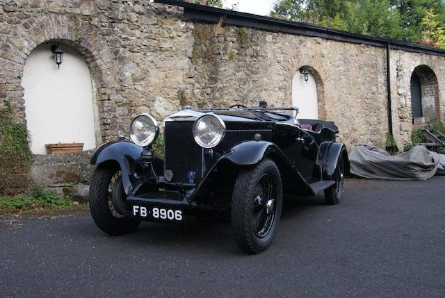 1930 Invicta 4½-Litre Series 'A' High Chassis Tourer  Chassis no. Chassis no. A91 Engine no. 7358