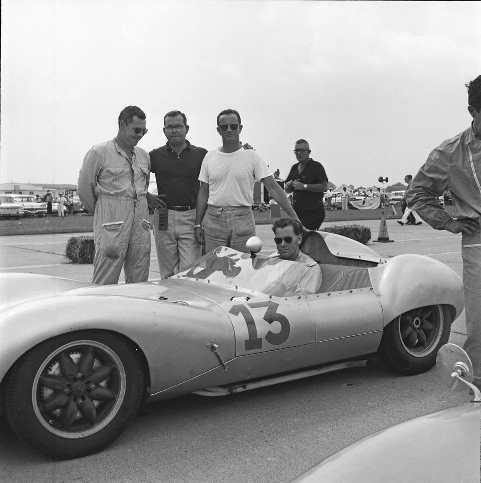 The ex-Allan Ross, Eric Broadley M.B.E.,1959 Lola Mark 1-Climax Sports-Racing Two-Seater  Chassis no. BY-2