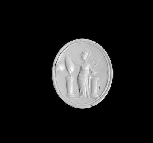 A Roman carnelian intaglio