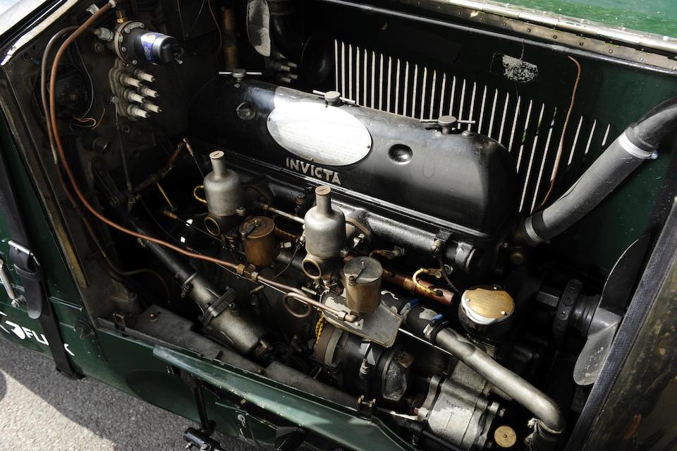 1928 Invicta 3-Litre Tourer  Chassis no. LC195 Engine no. 6651