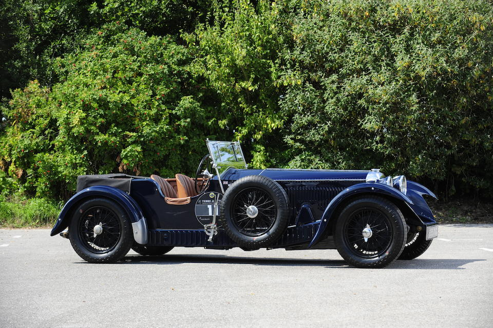 1936 Invicta 4½-Litre S-Type 'Low Chassis' Tourer  Chassis no. S312B Engine no. 7385