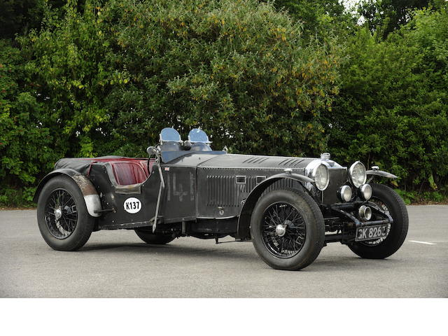 The ex-Works, Irish Tourist Trophy, Brooklands 'Double Twelve', George Field, Dudley Froy ,1931 Invicta 4½-Litre S-Type 'Low Chassis' Sports  Chassis no. S39